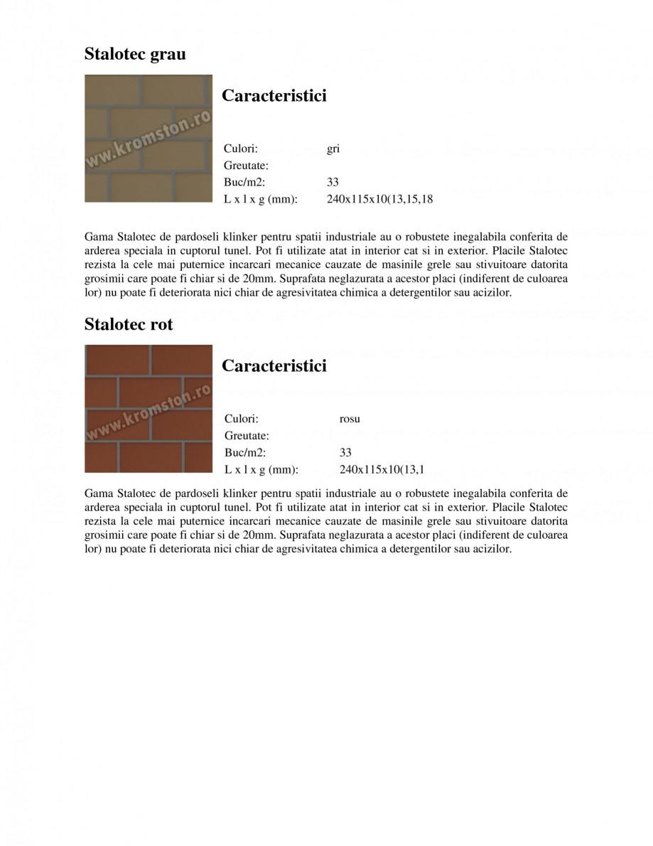Pagina 2 - Pardoseli industriale klinker STROHER Stalotec sandgelb - Industrial, Stalotec rot -...