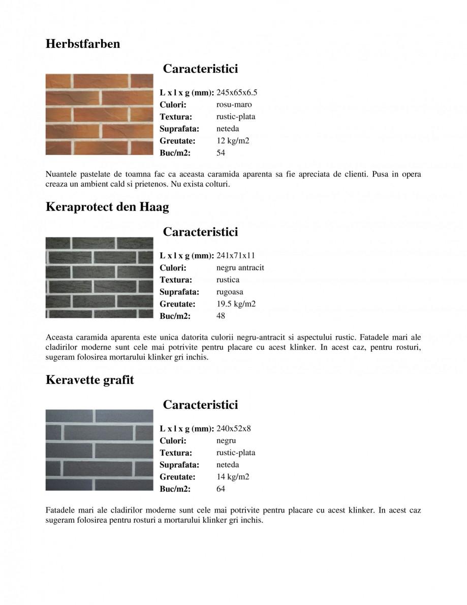 Pagina 7 - Caramida aparenta klinker FELDHAUS Feldhaus 100, Feldhaus 116, Feldhaus 140, Feldhaus 200...