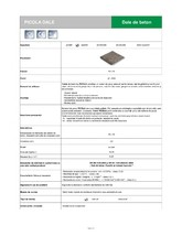Dale din beton SEMMELROCK STEIN+DESIGN
