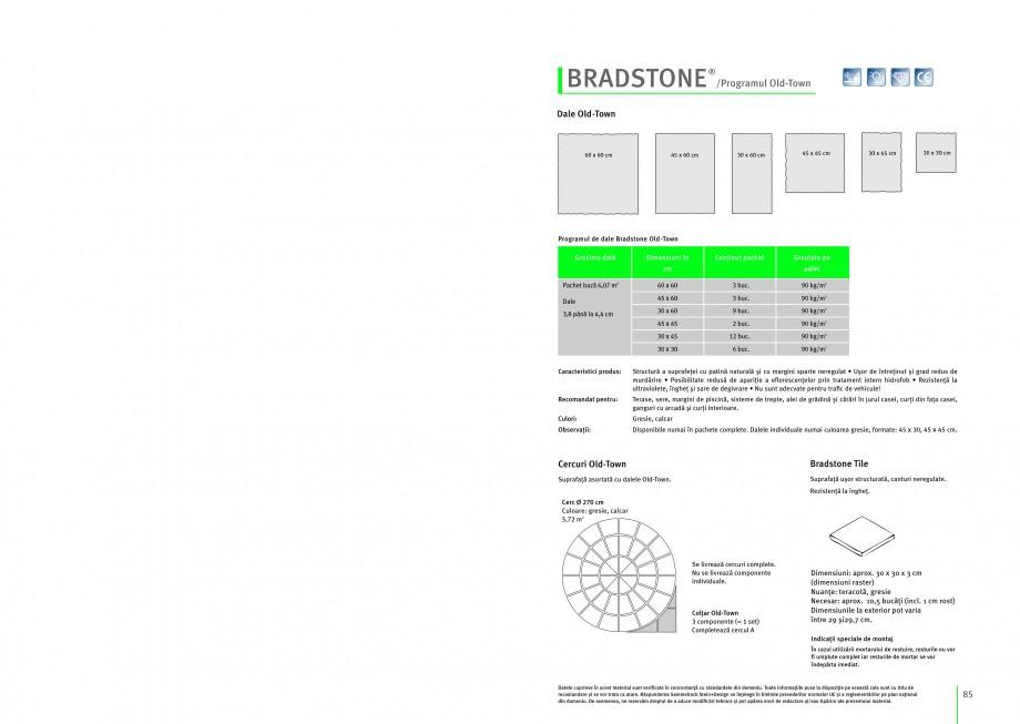 Pagina 1 - Dale din beton SEMMELROCK STEIN+DESIGN ARCADE Instructiuni montaj, utilizare Romana...