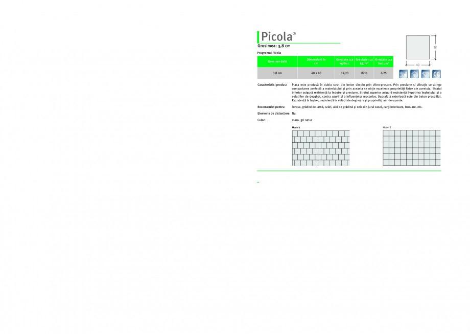 Pagina 1 - Dale din beton SEMMELROCK STEIN+DESIGN PICOLA Instructiuni montaj, utilizare Romana...