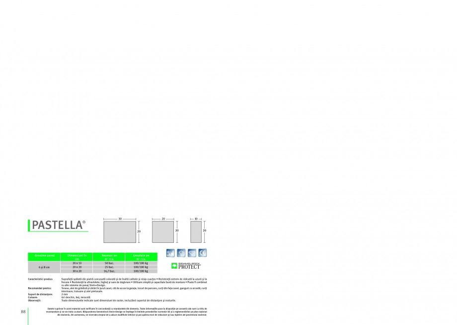 Pagina 1 - Pavaj din beton SEMMELROCK STEIN+DESIGN PASTELLA Instructiuni montaj, utilizare Romana 40...