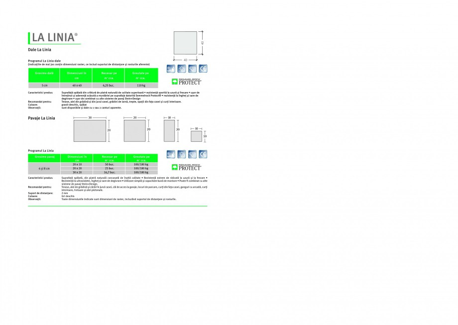 Pagina 1 - Pavaj si dale din beton SEMMELROCK STEIN+DESIGN LA LINIA Instructiuni montaj, utilizare...