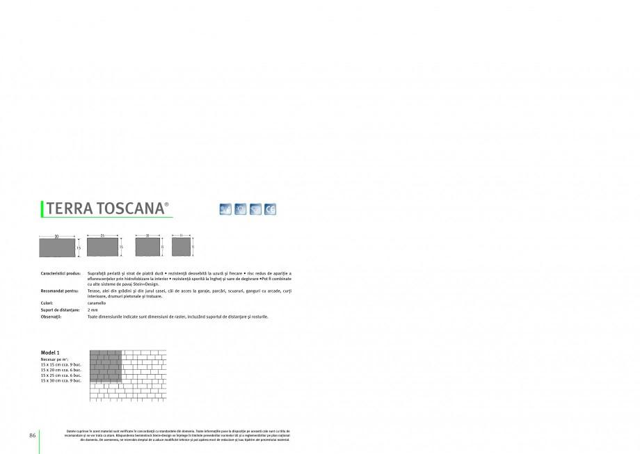 Pagina 1 - Pavaj si dale din beton SEMMELROCK STEIN+DESIGN TERRA TOSCANA Instructiuni montaj,...