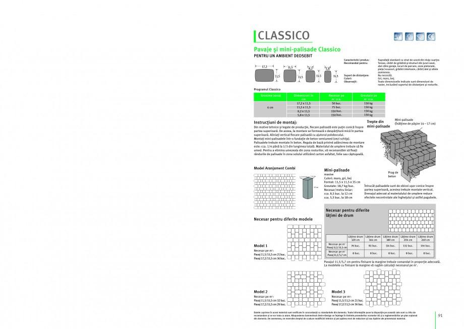 Pagina 1 - Pavaj si mini-palisade SEMMELROCK STEIN+DESIGN Instructiuni montaj, utilizare Romana...