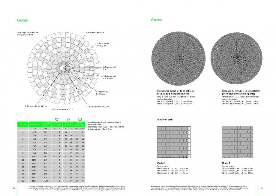 Pagina 2 - Pavaj si mini-palisade SEMMELROCK STEIN+DESIGN Instructiuni montaj, utilizare Romana 5 5,...