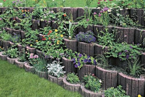 Exemple de utilizare Jardiniere SEMMELROCK STEIN+DESIGN - Poza 2