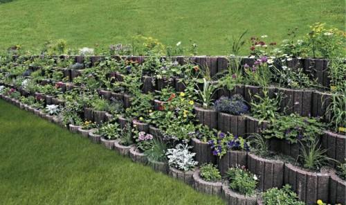Exemple de utilizare Jardiniere SEMMELROCK STEIN+DESIGN - Poza 1