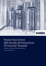 Usi rotative de securitate KABA