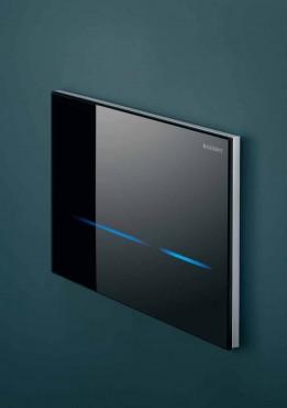 Prezentare produs Clapeta touchless Geberit Sigma80 negru GEBERIT - Poza 16