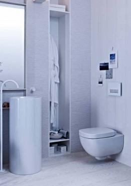 Prezentare produs Amenajari camere de baie cu sisteme de WC incastrate GEBERIT - Poza 25