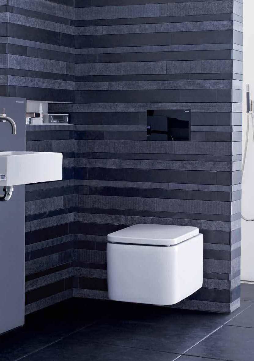 Amenajari camere de baie cu sisteme de WC incastrate GEBERIT - Poza 26