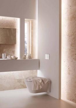 Prezentare produs Amenajari camere de baie cu sisteme de WC incastrate GEBERIT - Poza 27