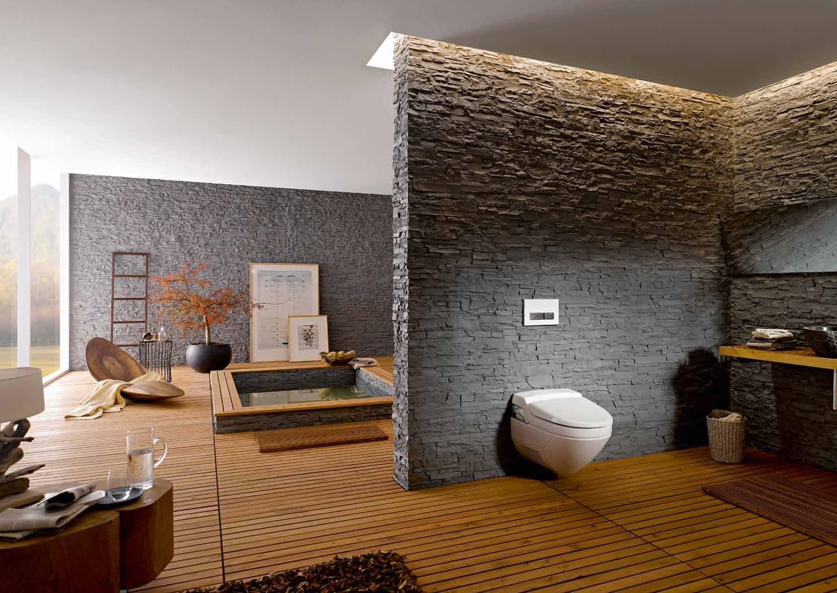 Amenajari camere de baie cu sisteme de WC incastrate GEBERIT - Poza 28