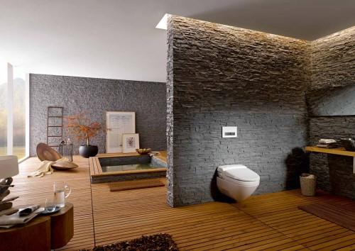 Prezentare produs Amenajari camere de baie cu sisteme de WC incastrate GEBERIT - Poza 28