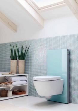 Prezentare produs Amenajari camere de baie cu sisteme de WC incastrate GEBERIT - Poza 29