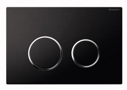Clapete de actionare Sigma / Clapeta Geberit Sigma20 negru cromat