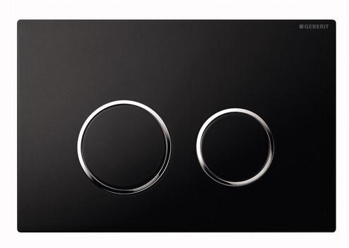 Prezentare produs Clapeta Geberit Sigma20 negru cromat GEBERIT - Poza 7
