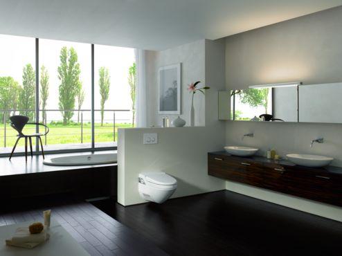 Amenajari camere de baie cu sisteme de WC incastrate GEBERIT - Poza 1