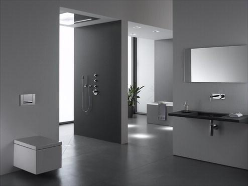 Amenajari camere de baie cu sisteme de WC incastrate GEBERIT - Poza 3