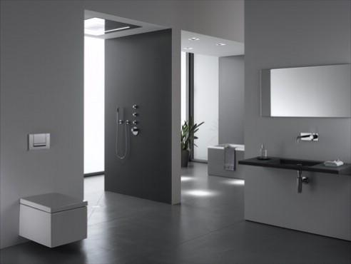 Prezentare produs Amenajari camere de baie cu sisteme de WC incastrate GEBERIT - Poza 3