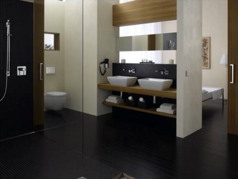 Prezentare produs Amenajari camere de baie cu sisteme de WC incastrate GEBERIT - Poza 8