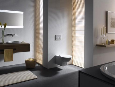 Prezentare produs Amenajari camere de baie cu sisteme de WC incastrate GEBERIT - Poza 11