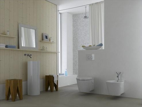 Amenajari camere de baie cu sisteme de WC incastrate GEBERIT - Poza 15