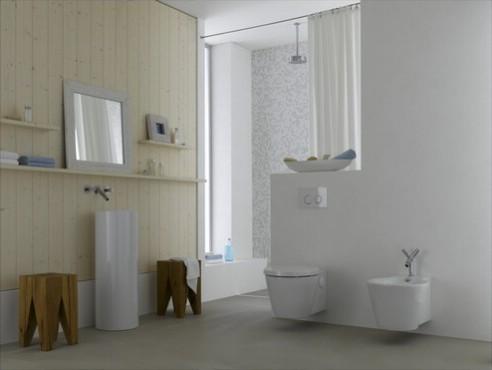 Prezentare produs Amenajari camere de baie cu sisteme de WC incastrate GEBERIT - Poza 15