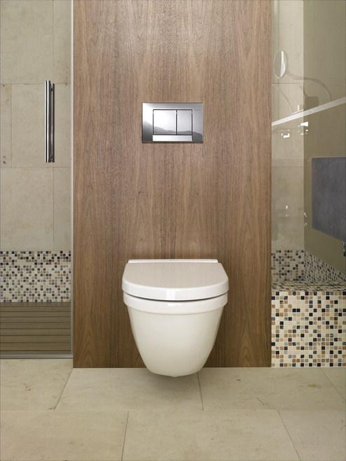 Amenajari camere de baie cu sisteme de WC incastrate GEBERIT - Poza 21