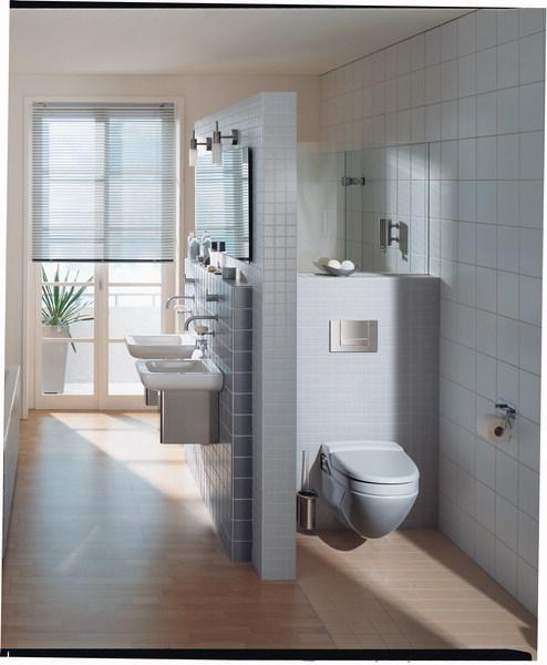 Amenajari camere de baie cu sisteme de WC incastrate GEBERIT - Poza 24