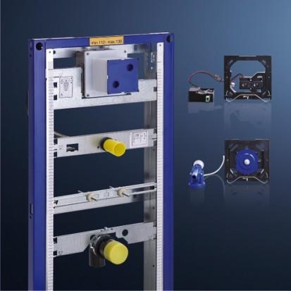 Sistem de instalare incastrat pentru pisoar / Sistem de instalare Geberit Duofix pentru pisoar