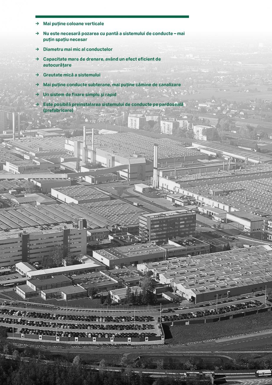 Pagina 7 - Sistemul de drenare pentru acoperisuri Geberit Pluvia GEBERIT Catalog, brosura Romana uri...