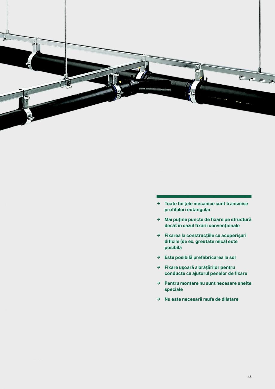 Pagina 13 - Sistemul de drenare pentru acoperisuri Geberit Pluvia GEBERIT Catalog, brosura Romana...