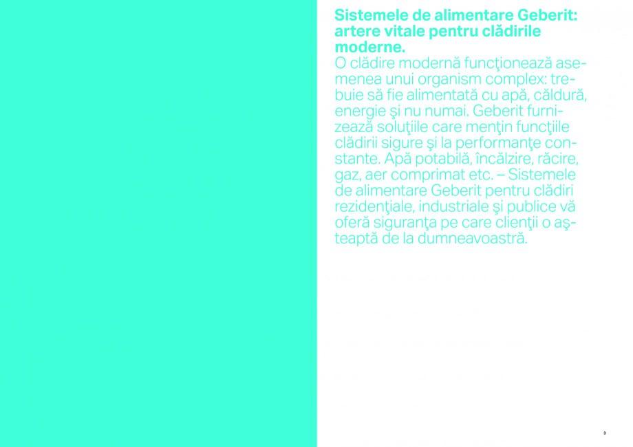 Pagina 2 - Sisteme de alimentare Geberit GEBERIT Catalog, brosura Romana resare metalice Geberit...