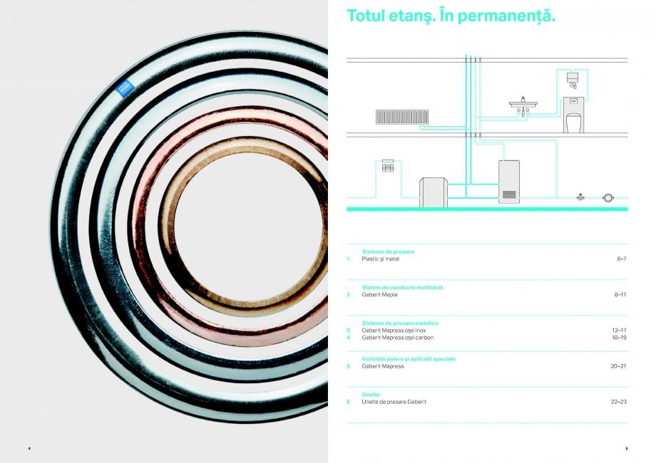 Pagina 3 - Sisteme de alimentare Geberit GEBERIT Catalog, brosura Romana nealta de presare. Prin...