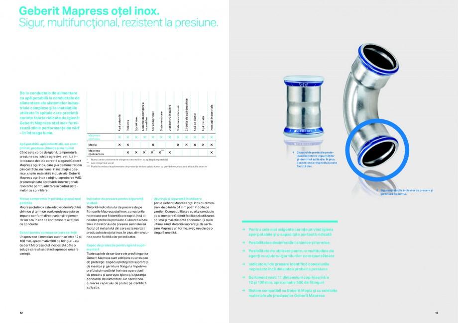 Pagina 7 - Sisteme de alimentare Geberit GEBERIT Catalog, brosura Romana ile realizate din PVDF şi ...