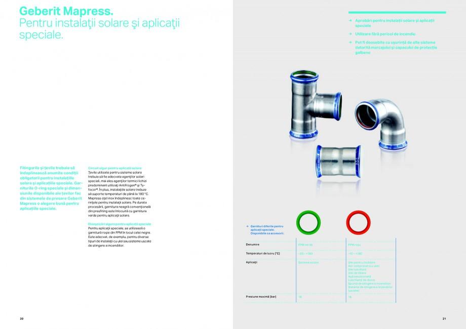 Pagina 11 - Sisteme de alimentare Geberit GEBERIT Catalog, brosura Romana �  Adaptoare pentru...