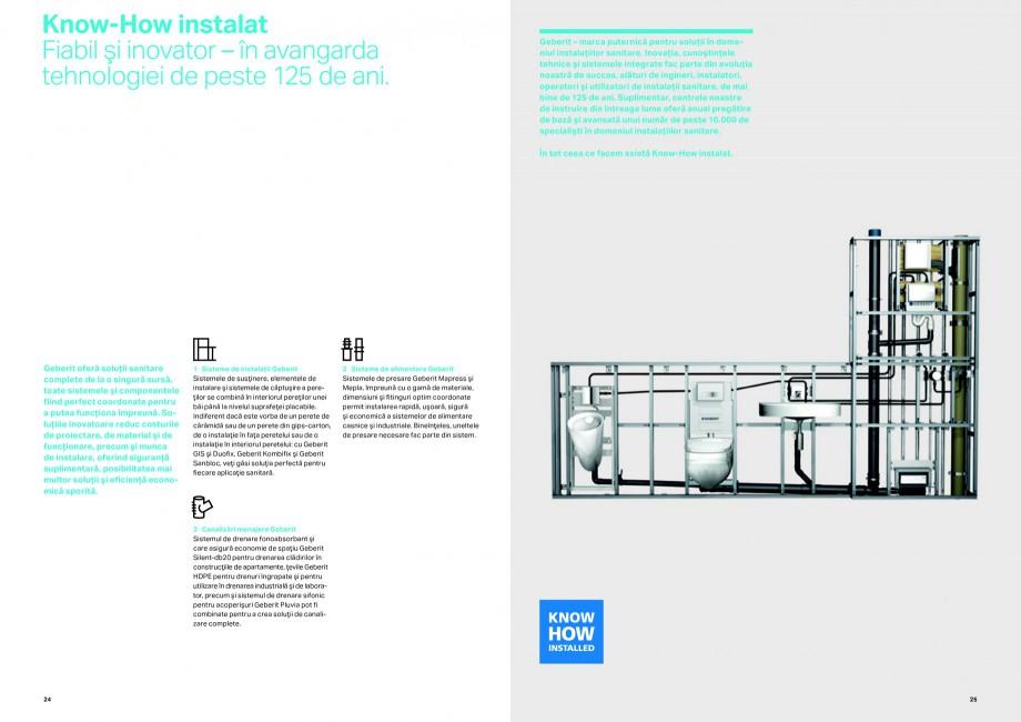 Pagina 13 - Sisteme de alimentare Geberit GEBERIT Catalog, brosura Romana de o singură unealtă....