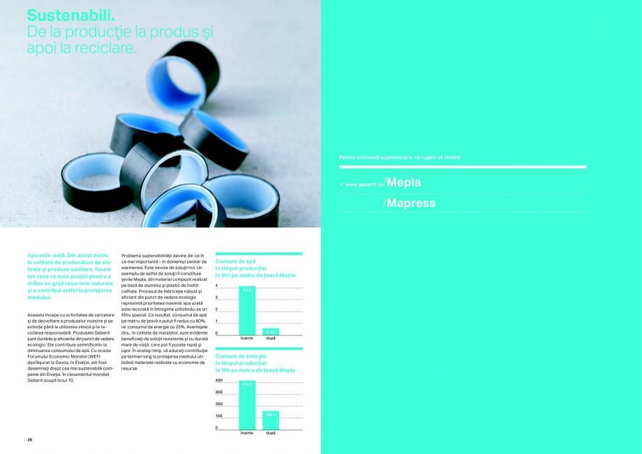 Pagina 14 - Sisteme de alimentare Geberit GEBERIT Catalog, brosura Romana resare manuali. → ...