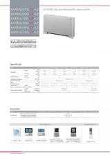 Sistem de climatizare - Unitati interioare de pardoseala carcasate LG