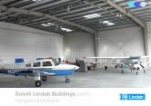 Solutii Lindab Buildings pentru hangare de avioane LINDAB BUILDINGS