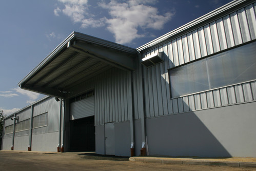 Hale pe structura de metal LINDAB BUILDINGS - Poza 9