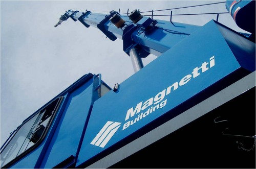 Hale industriale cu elemente structurale prefabricate din beton armat - Sediu Magnetti Building MAGNETTI - Poza 5