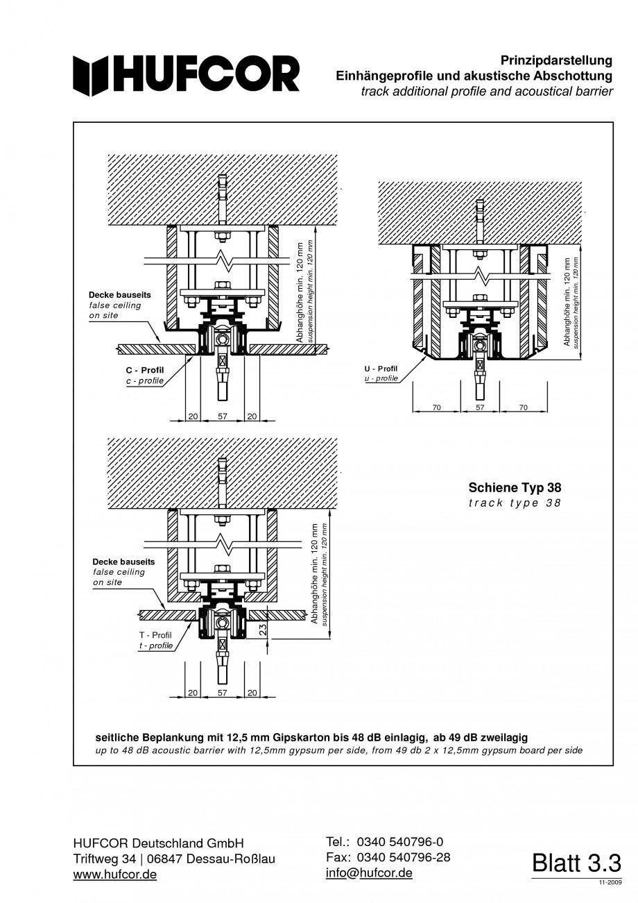 Pagina 60 - Pereti amovibili HUFCOR Fisa tehnica Engleza, Germana 7 Dessau-Roßlau 06847...