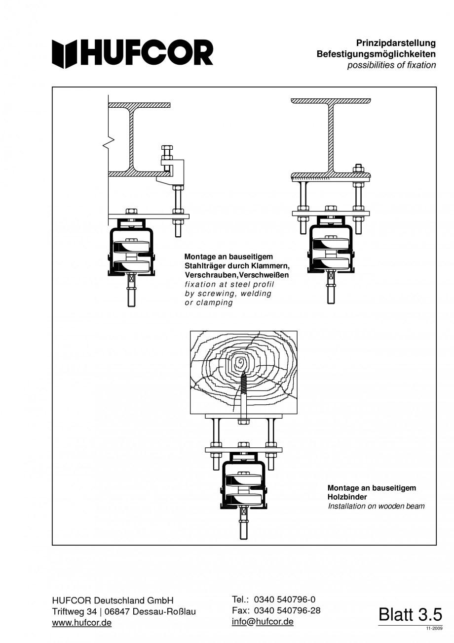 Pagina 62 - Pereti amovibili HUFCOR Fisa tehnica Engleza, Germana ertige Furnier- und...