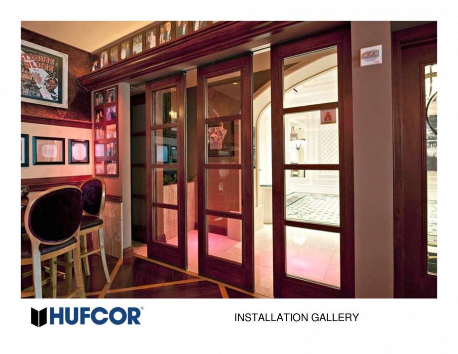 Pagina 6 - Pereti amovibili HUFCOR Lucrari, proiecte Engleza