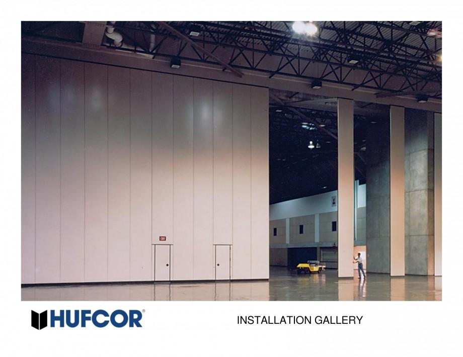 Pagina 8 - Pereti amovibili HUFCOR Lucrari, proiecte Engleza