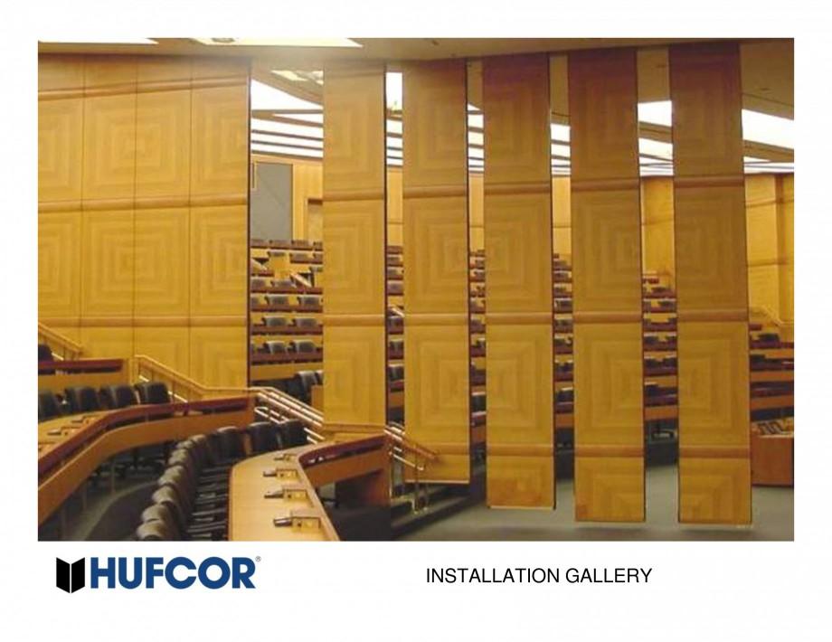 Pagina 20 - Pereti amovibili HUFCOR Lucrari, proiecte Engleza
