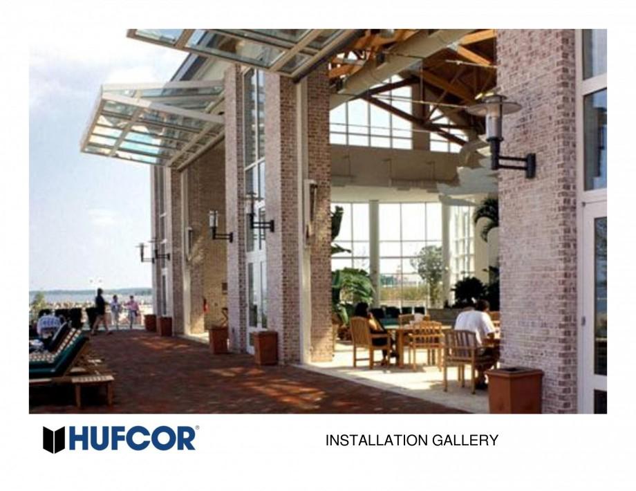 Pagina 29 - Pereti amovibili HUFCOR Lucrari, proiecte Engleza